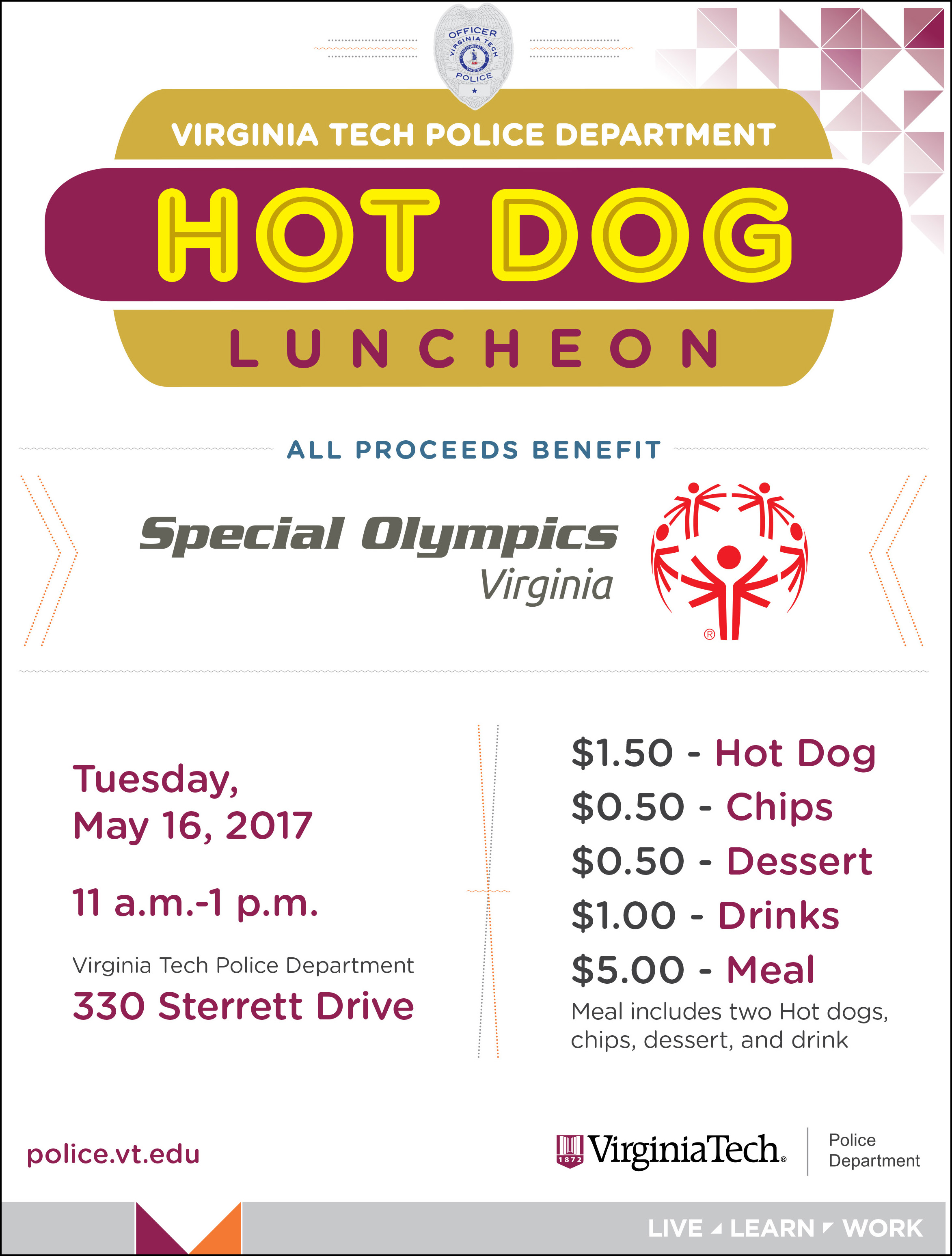 Hot dog luncheon