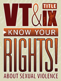 VT Title IX Know Your Rights